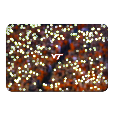 Virginia Tech Hokies - Light Up Lane - College Wall Art #PVC