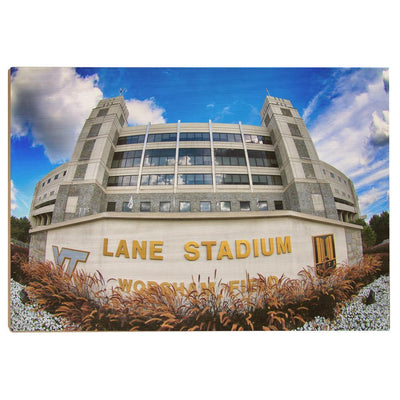Virginia Tech Hokies - Lane Stadium 2 - College Wall Art #Wood