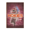 Virginia Tech Hokies - Hokie Smoke - College Wall Art #Wood