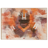 Virginia Tech Hokies - Hokie Stone - College Wall Art #Wood