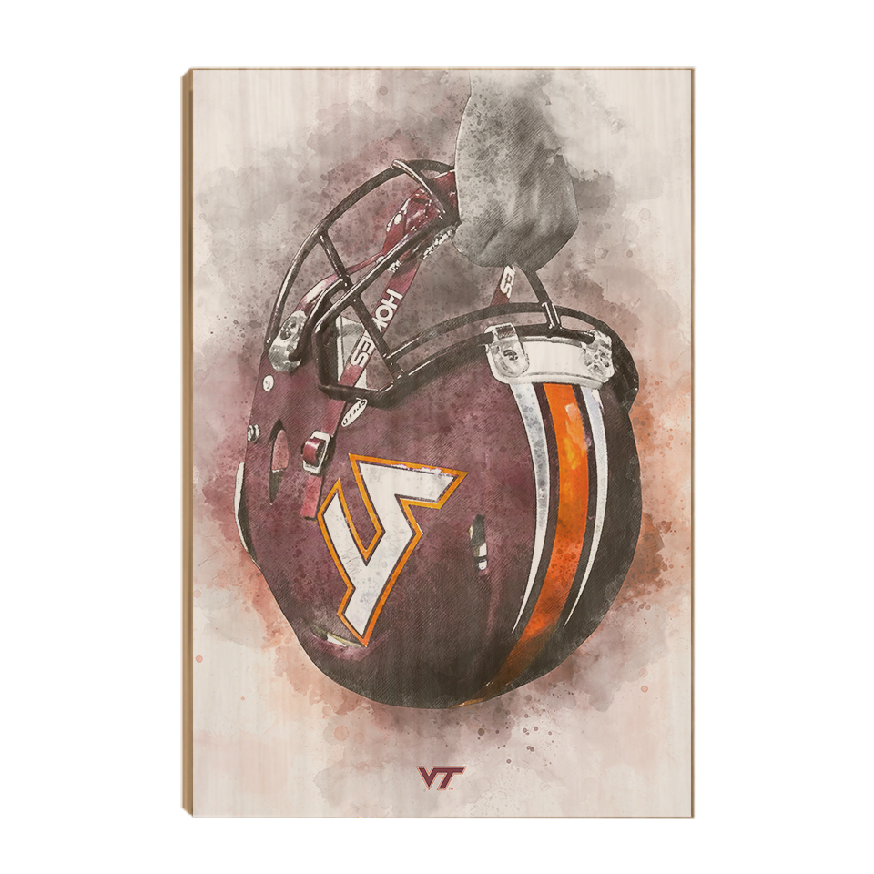 Virginia Tech Hokies - Battle Ready Hokie - College Wall Art #Canvas