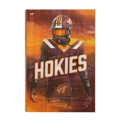 Virginia Tech Hokies - This is Hokie Football - College Wall Art #Wood