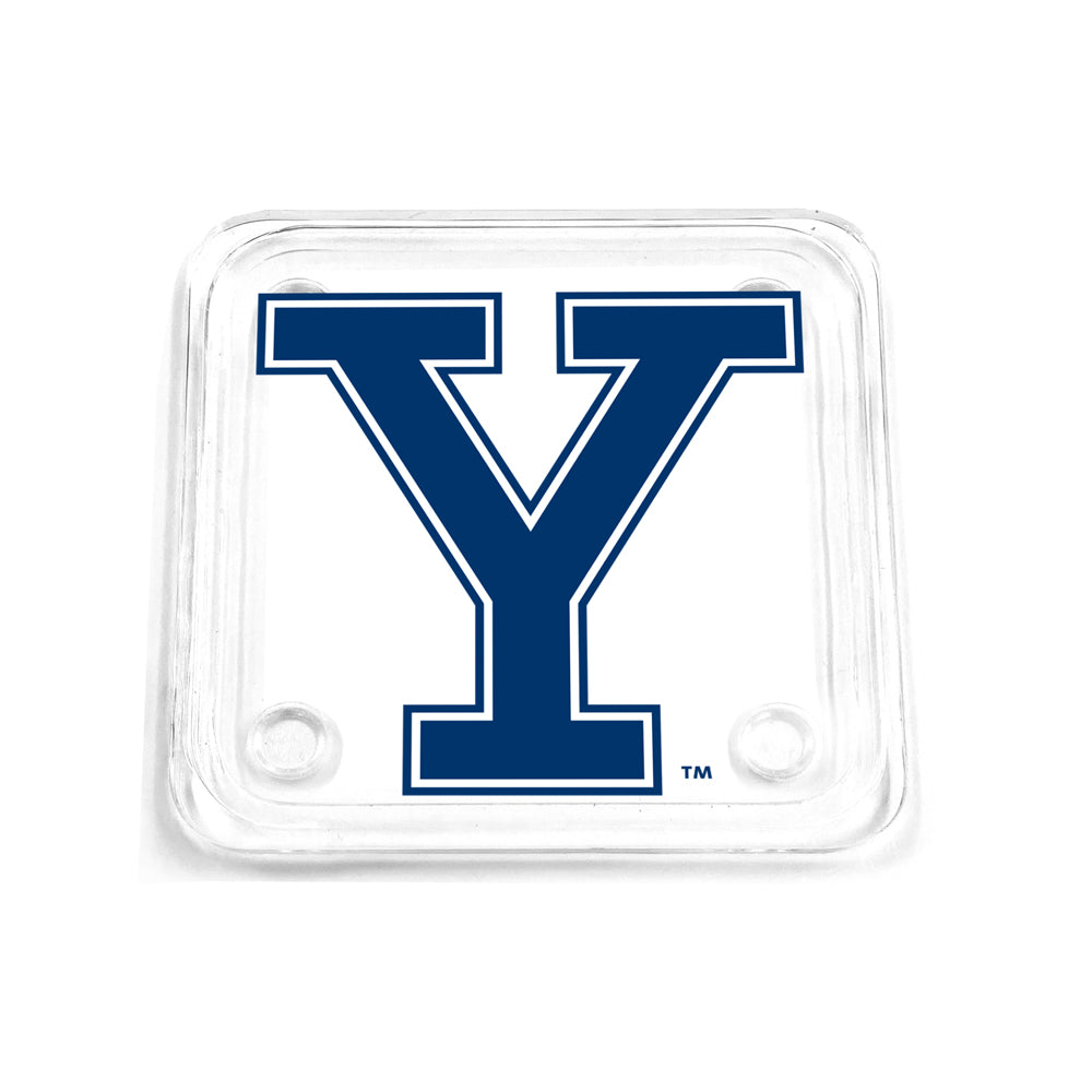 Yale Bulldogs - Yale Mark Drink Coaster