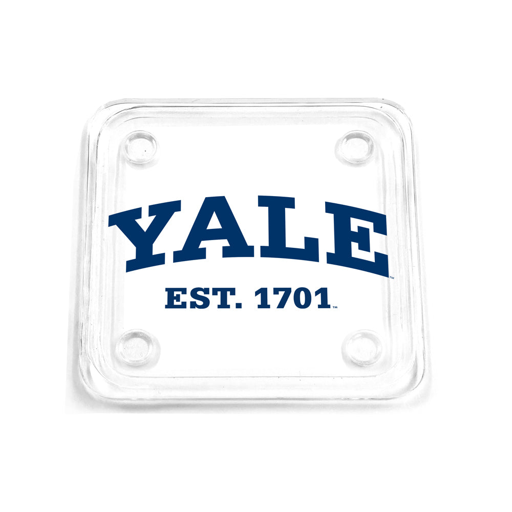 Yale Bulldogs - Yale Established 1701 Drink Coaster