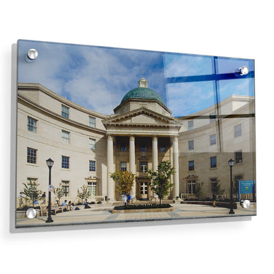 Yale Bulldogs - Sterling Hall of Medicine - College Wall Art #Acrylic