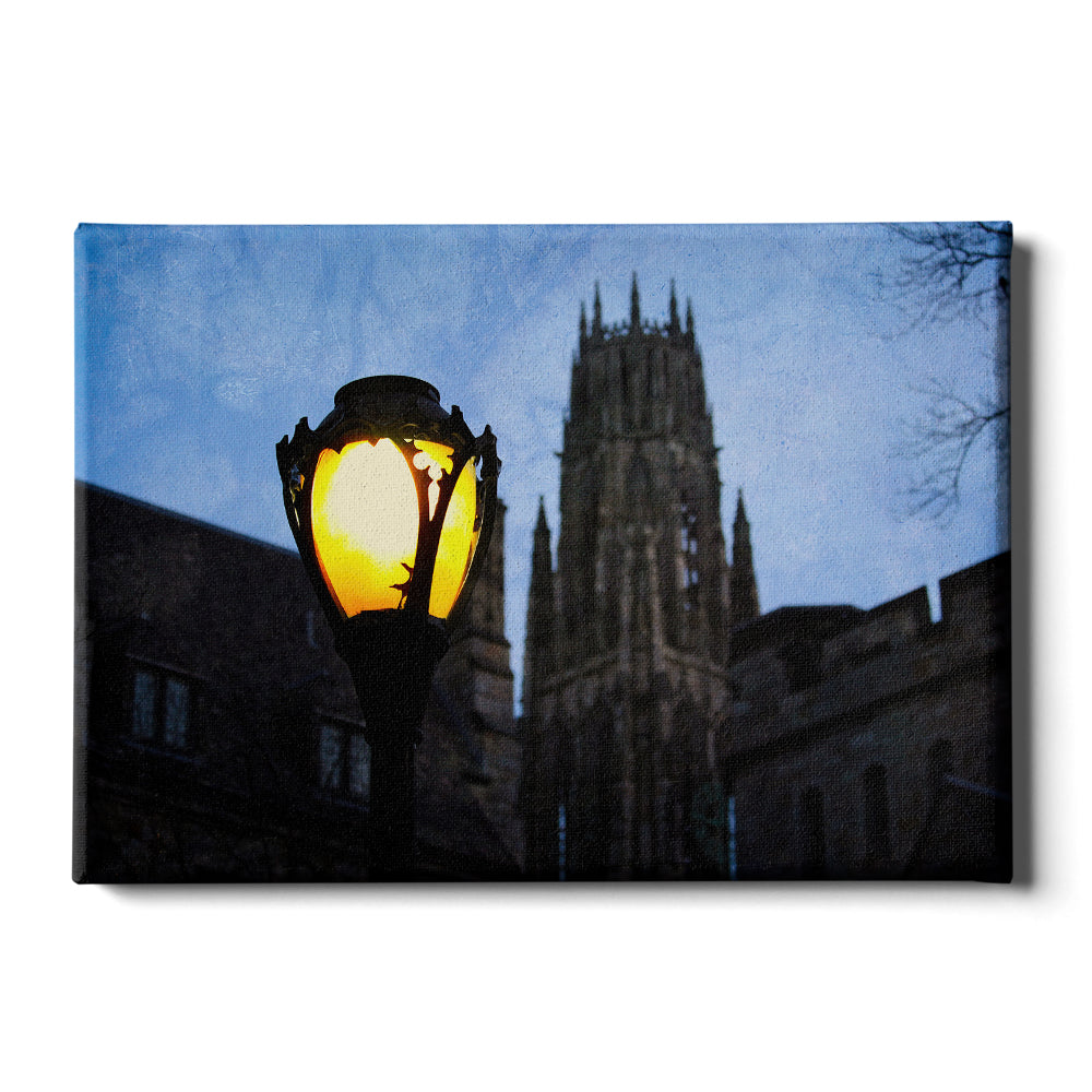 Yale Bulldogs - Dawn Harkness Tower - College Wall Art #Canvas