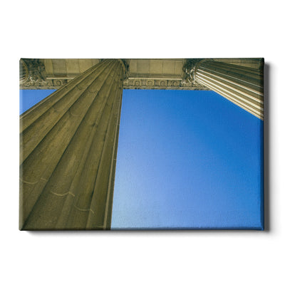 Yale Bulldogs - Colonnade at Schwarzman - College Wall Art #Canvas