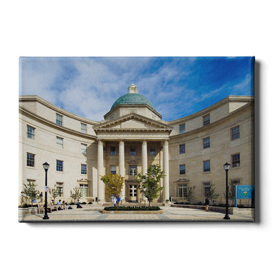 Yale Bulldogs - Sterling Hall of Medicine - College Wall Art #Canvas