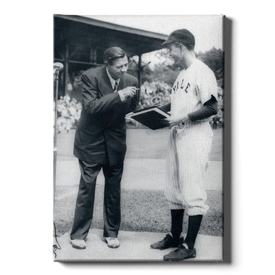 Yale Bulldogs - George WH & Babe-1948 - College Wall Art #Canvas