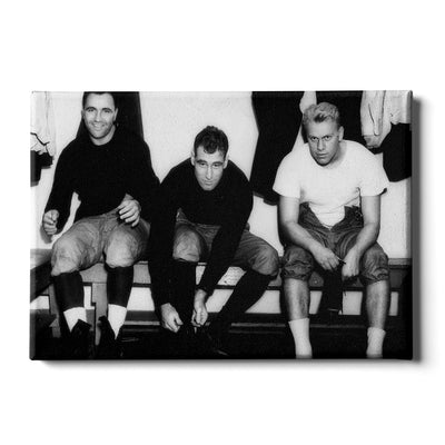 Yale Bulldogs - Vintage Gerald Ford and the boys suiting up - College Wall Art #Canvas
