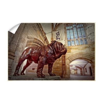 Yale Bulldogs - Yale's Hansome Dan - College Wall Art #Wall Decal