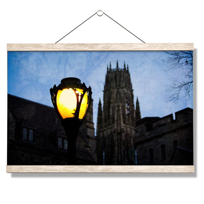 Yale Bulldogs - Dawn Harkness Tower - College Wall Art #Hanging Canvas