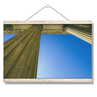 Yale Bulldogs - Colonnade at Schwarzman - College Wall Art #Hanging Canvas