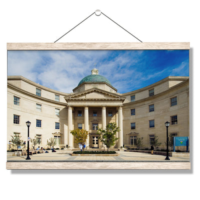 Yale Bulldogs - Sterling Hall of Medicine - College Wall Art #Hanging Canvas