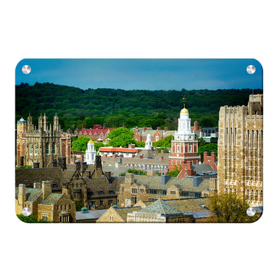 Yale Bulldogs - Yale Campus -College Wall Art #Metal