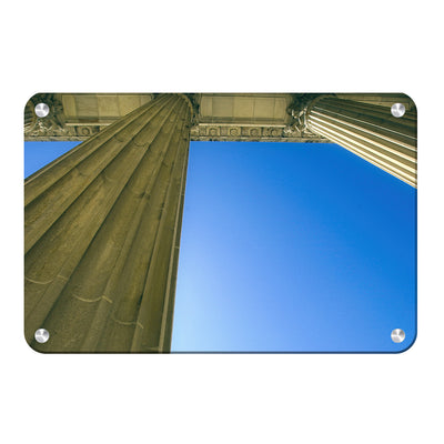 Yale Bulldogs - Colonnade at Schwarzman - College Wall Art #Metal