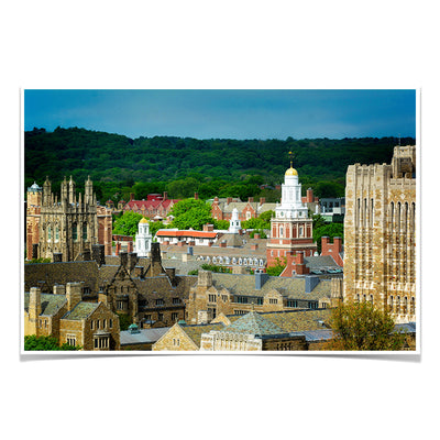 Yale Bulldogs - Yale Campus -College Wall Art #Poster
