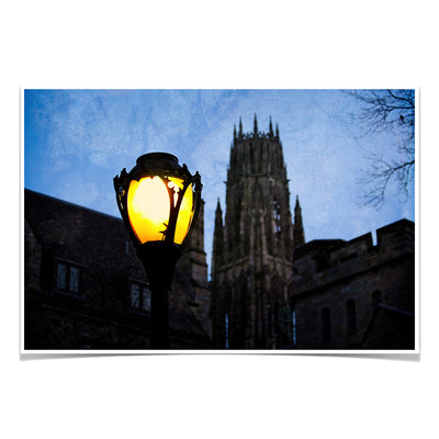 Yale Bulldogs - Dawn Harkness Tower - College Wall Art #Poster