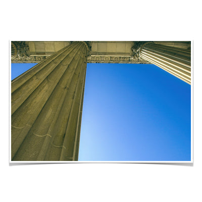 Yale Bulldogs - Colonnade at Schwarzman - College Wall Art #Poster