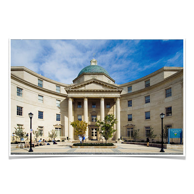 Yale Bulldogs - Sterling Hall of Medicine - College Wall Art #Poster