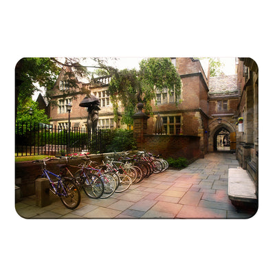 Yale Bulldogs - Bikes on Campus - College Wall Art #PVC
