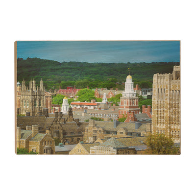 Yale Bulldogs - Yale Campus -College Wall Art #Wood