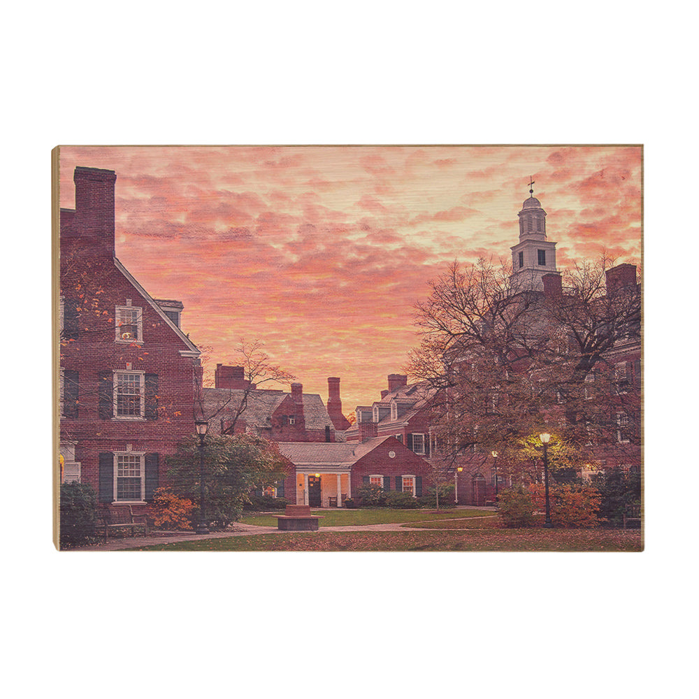 Yale Bulldogs - Campus Sunset #Canvas