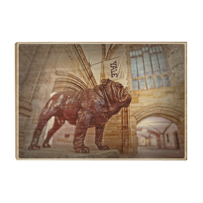 Yale Bulldogs - Yale's Hansome Dan - College Wall Art #Wood