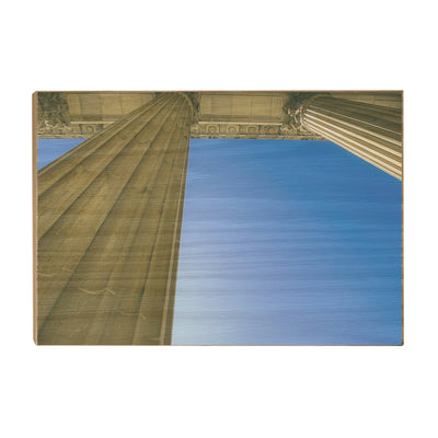 Yale Bulldogs - Colonnade at Schwarzman - College Wall Art #Wood