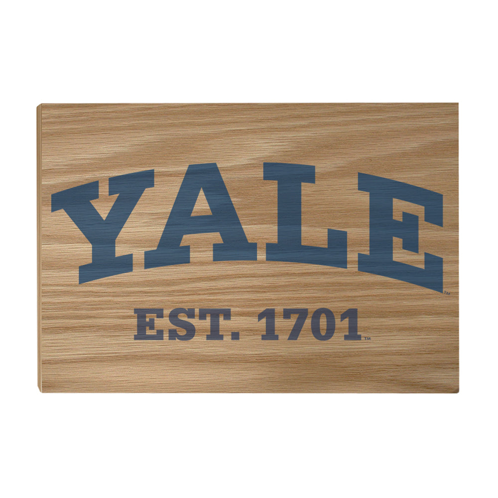 Yale Bulldogs - Yale established 1701 #Canvas