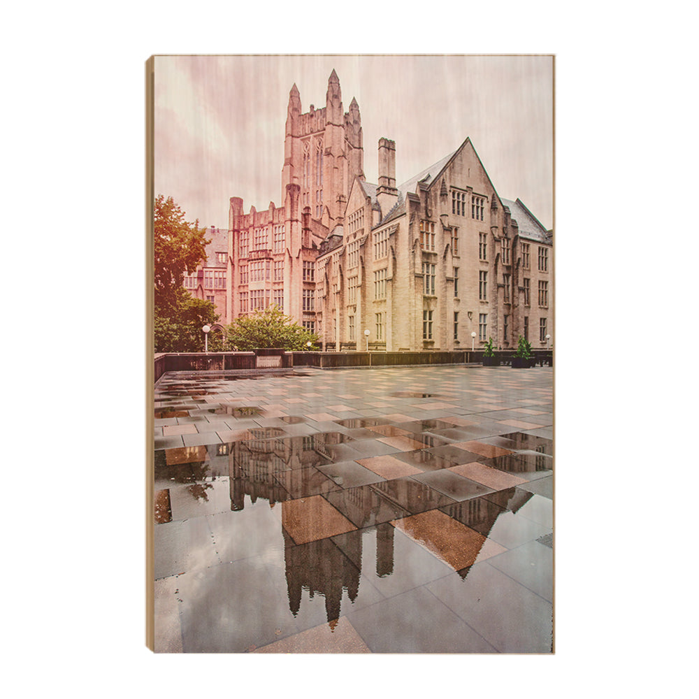 Yale Bulldogs - Stormy Sheffield-Sterling-Strathcona Hall #Canvas
