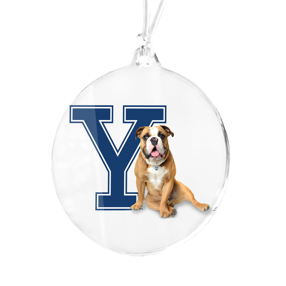 Yale Bulldogs - Yale Handsome Dan Bag Tag & Ornament