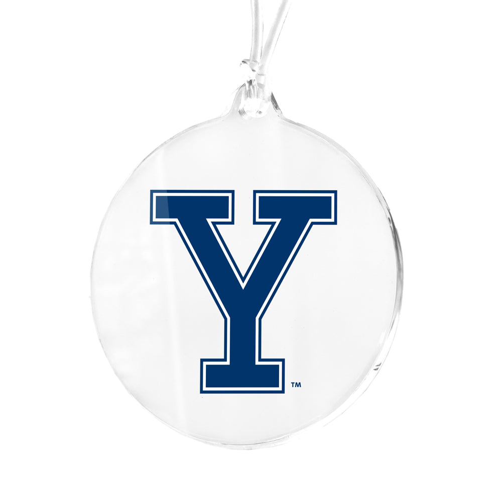 Yale Bulldogs - Yale Mark Bag Tag & Ornament