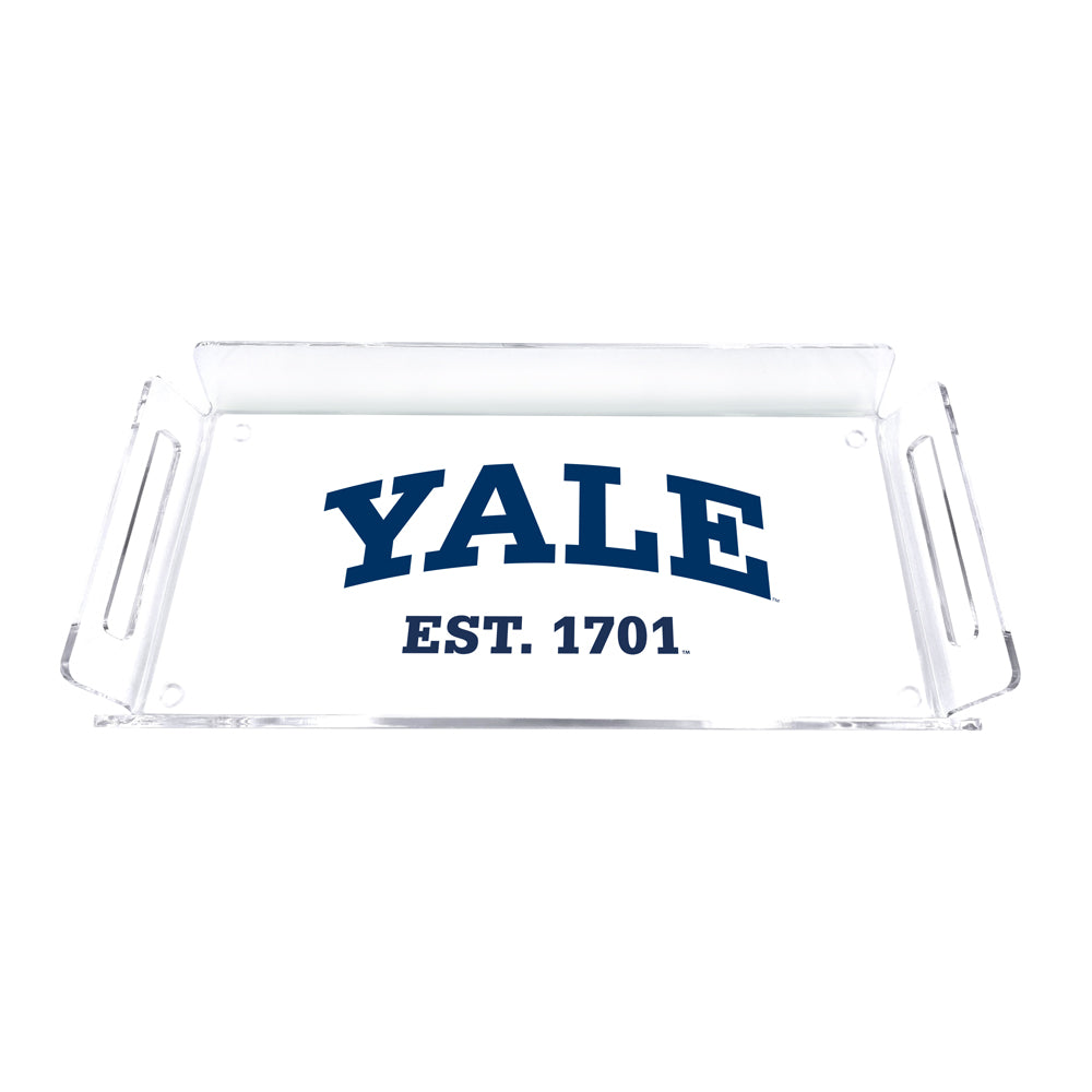 Yale Bulldogs - Yale Established 1701 Tray