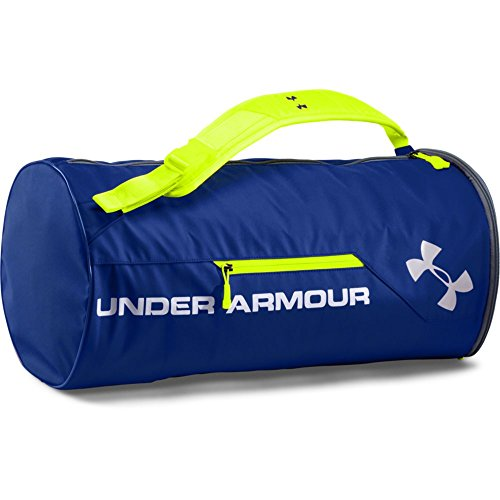 Under Armour Unisex Isolate Duffel Bag, Royal /Silver, One Size