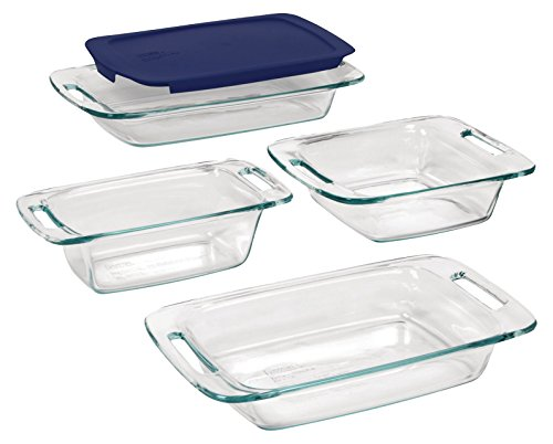 Pyrex Easy Grab Glass Bakeware Set (5-piece)