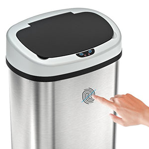 SensorCan OSC13SBSAC Battery-Free Automatic Sensor Kitchen Trash Can