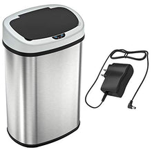 Load image into Gallery viewer, SensorCan OSC13SBSAC Battery-Free Automatic Sensor Kitchen Trash Can