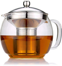 Load image into Gallery viewer, Glass Teapot with Infuser
