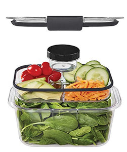 Rubbermaid Brilliance Food Container Combo Kit