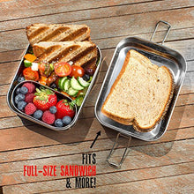 Load image into Gallery viewer, Stainless Steel 3-in-1 Bento Lunch Box