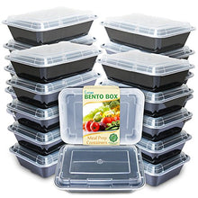 Load image into Gallery viewer, Enther Meal Prep Containers [20 Pack] Single 1 Compartment