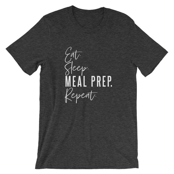 MEAL PREP. REPEAT UNISEX T-SHIRT (COTTON)