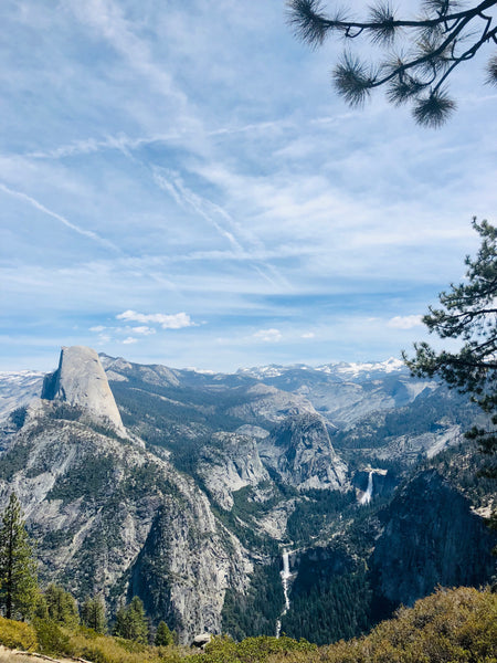 Hiking Yosemite-Camping-Glacier Point-Upper Yosemite Falls