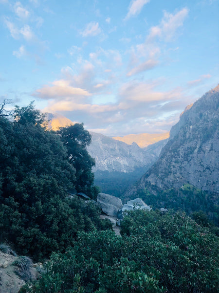 Hiking Yosemite-Camping-Hal Dome