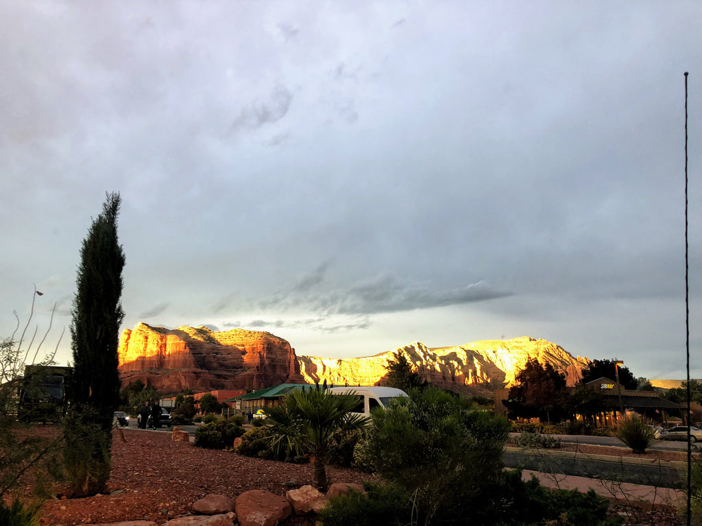 Old Town Sedona at Sunset