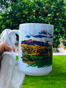 Custom 15 oz ceramic mug