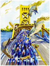 "Load image into Gallery viewer, Art Print - ""Amgen Tour of California"""