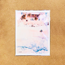 "Load image into Gallery viewer, Hand-made cards ""Tanning Avo"" printed on eco-friendly watercolor paper"