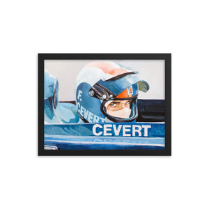 "Art Print - ""Francois Cevert. The eyes"""